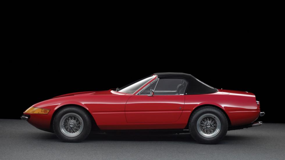 Ferrari Daytona Spider lateral