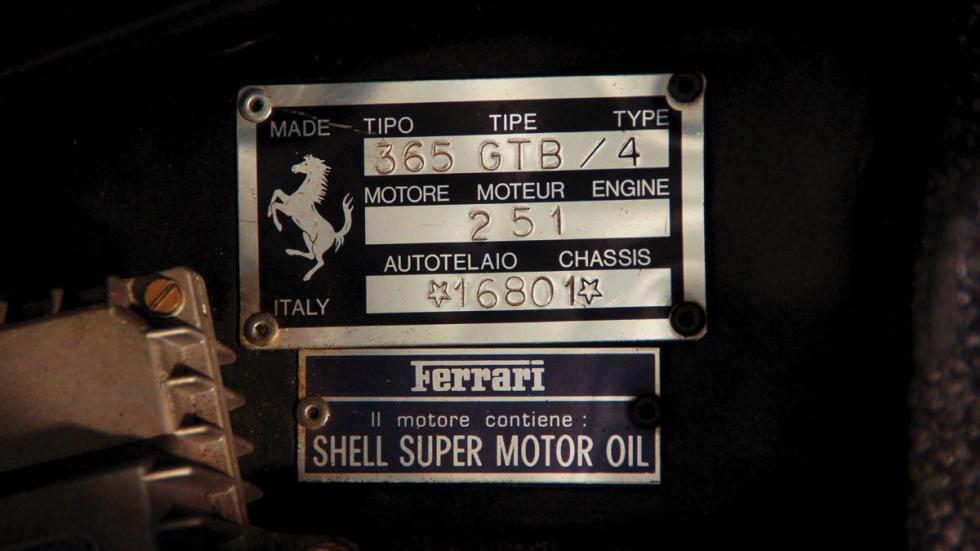 Ferrari Daytona Spider placa