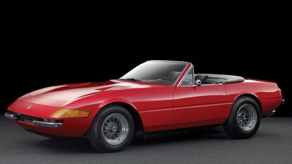 Ferrari Daytona Spider tres cuartos frontales