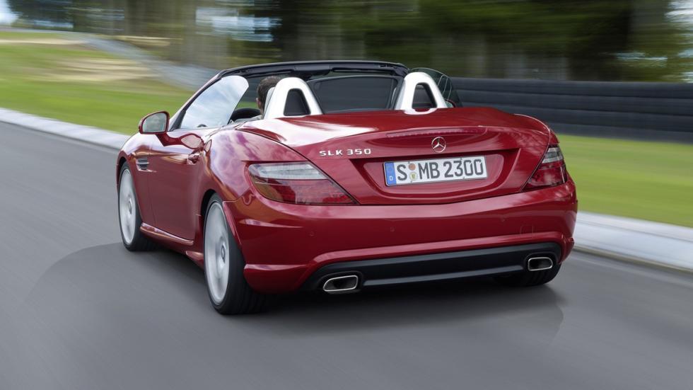 coches-usados-deberías-comprar-Mercedes-SLK-zaga