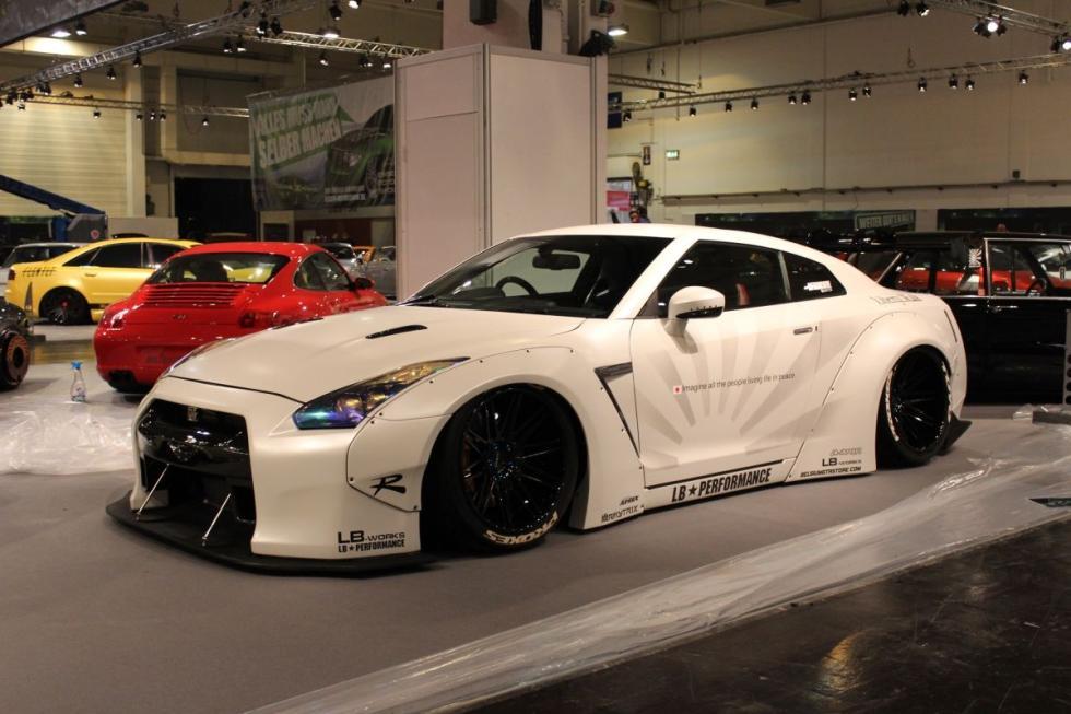 Body kit de Liberty Walk para el Nissan GT-R