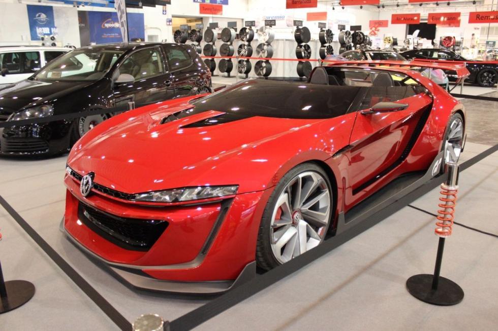 VW GTI Roadster Concept creado para el videojuego Gran Turismo 6
