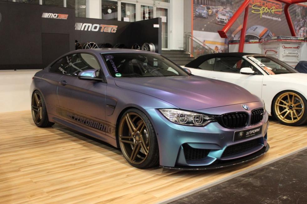 NB Performance ha modificado este BMW M4 Coupé.