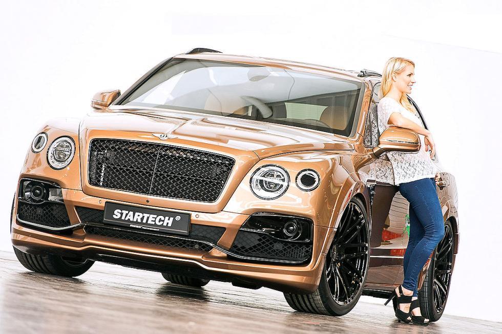 Bentley Bentayga de Startech. Trabajan en un aumento de potencia para su W12 de