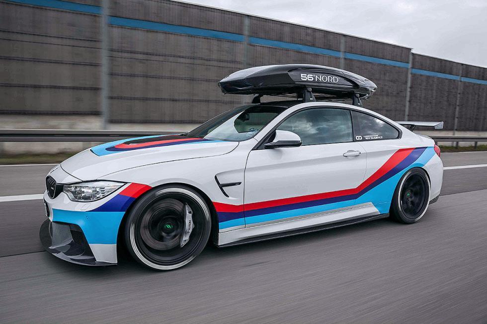 BMW M4R  de  Carbonfiber Dynamics, con 700 CV.