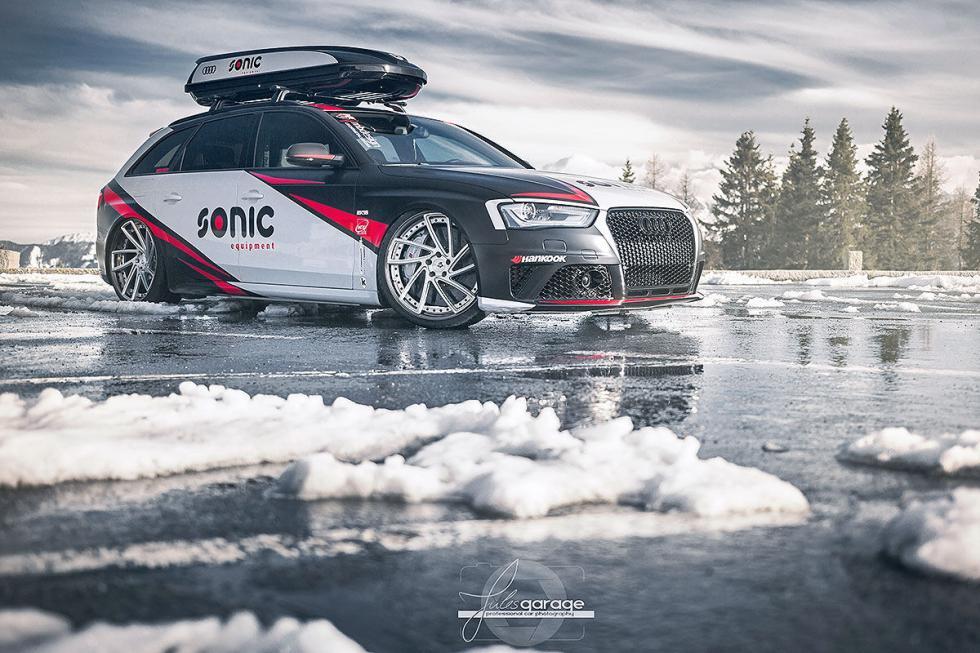 Audi RS 4 de Sonic Equipment