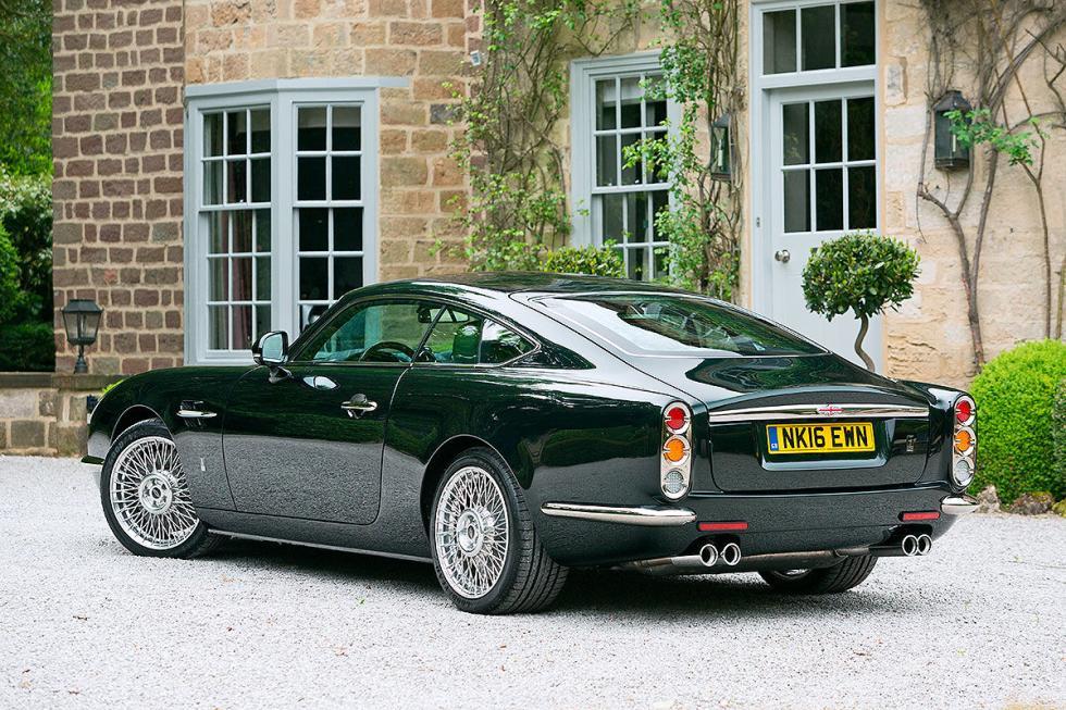 David Brown Speedback GT: igualito que un Aston Martin DB5, pero es un coche ac