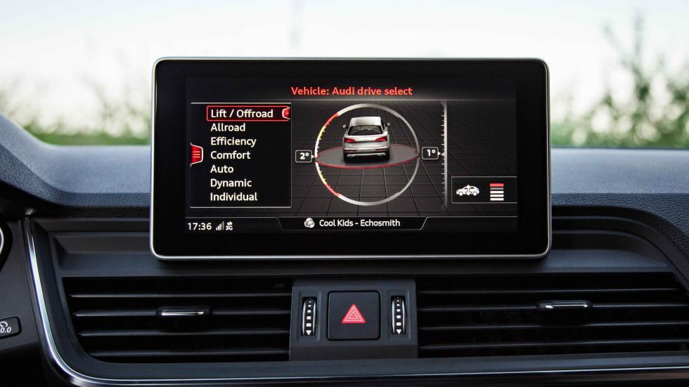 Audi Q5 2017 pantalla