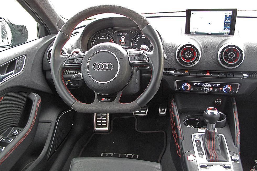 Prueba MTM RS 3 R. Un Audi A3 de 500 CV a 300 km/h