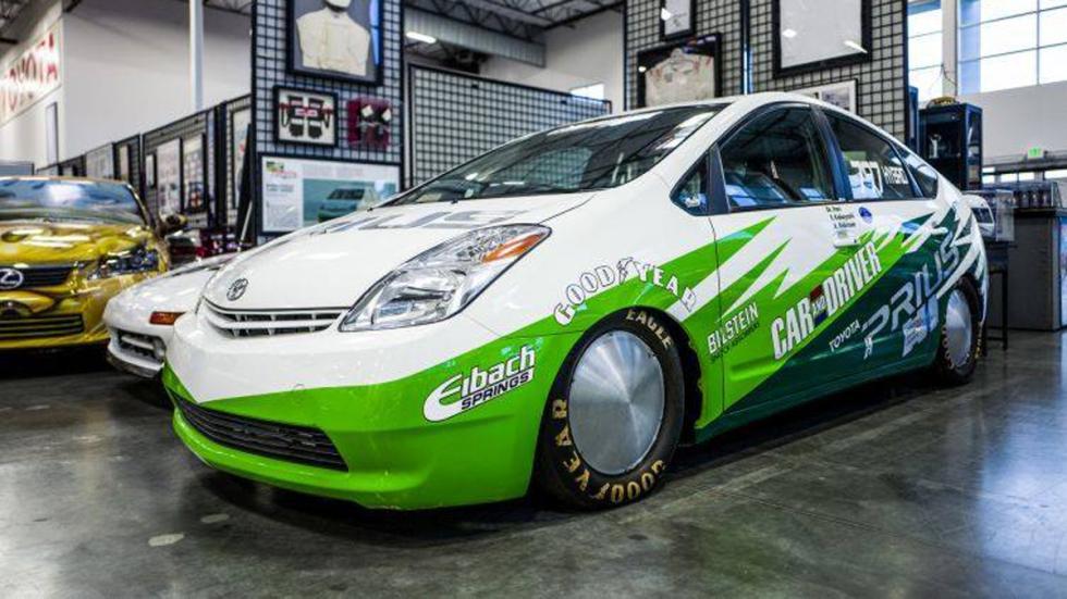 Museo 'secreto' Toyota Estados Unidos prius