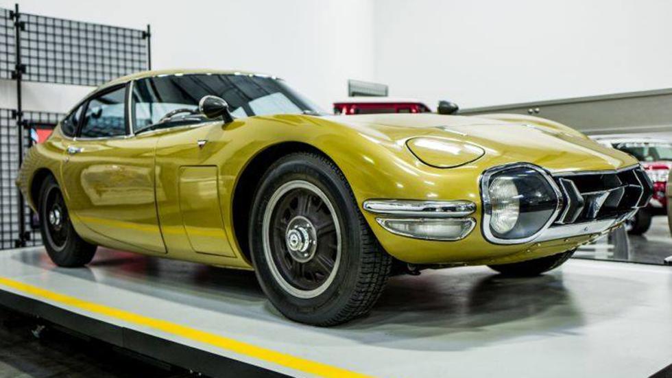 Museo 'secreto' Toyota Estados Unidos 2000gt
