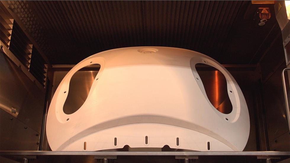 coche 3D de honda impresora