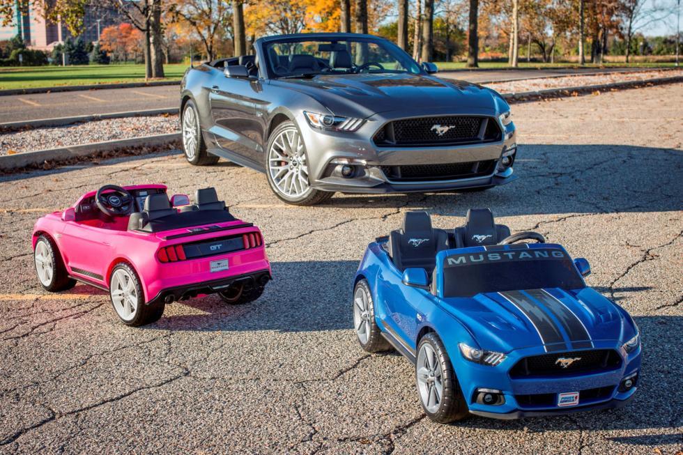 Ford Mustang para niños.