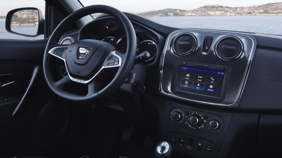 Interior Dacia Sandero 2017