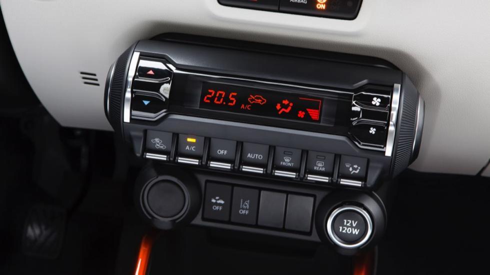 Suzuki Ignis 2017 consola