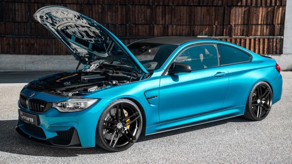 BMW M4 Coupé modificado G-Power delantera capó
