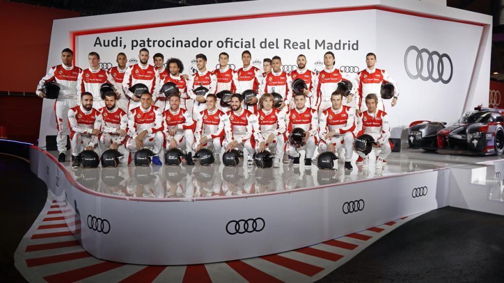 Audi Real Madrid r18 cristiano ronaldo rs6 rs7