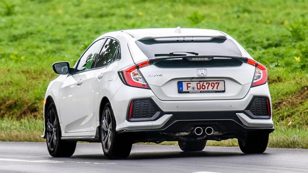 Honda Civic Hatchback 2017: las fotos