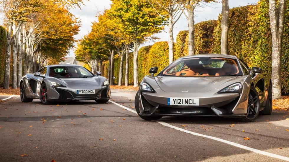 McLaren 570GT 650S comparativa prueba deportivos ingleses superdeportivos lujo