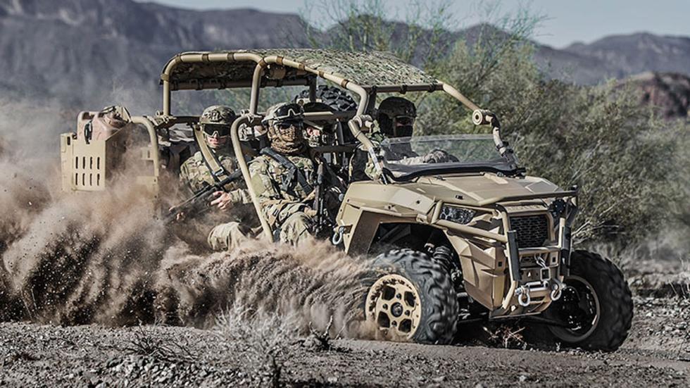 Polaris MRZR Buggy ejército Marines EEUU guerra