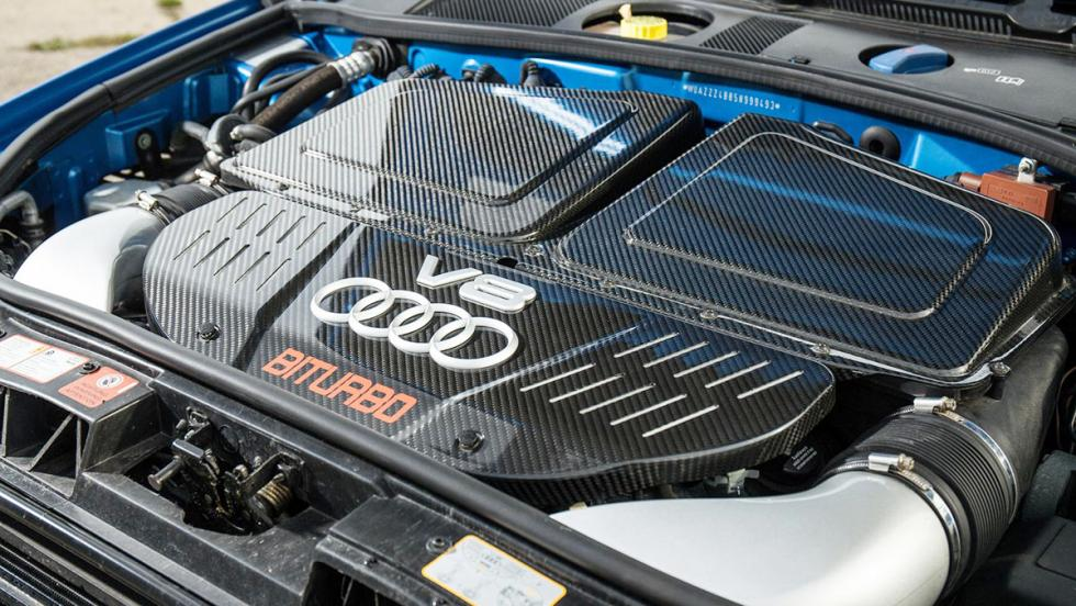 Razones para comprar un Audi RS6: su motor ofrecía unas prestaciones brutales