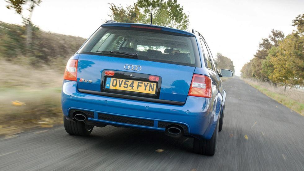 Razones para comprar un Audi RS6: tenía un comportamiento dinámico espectacular