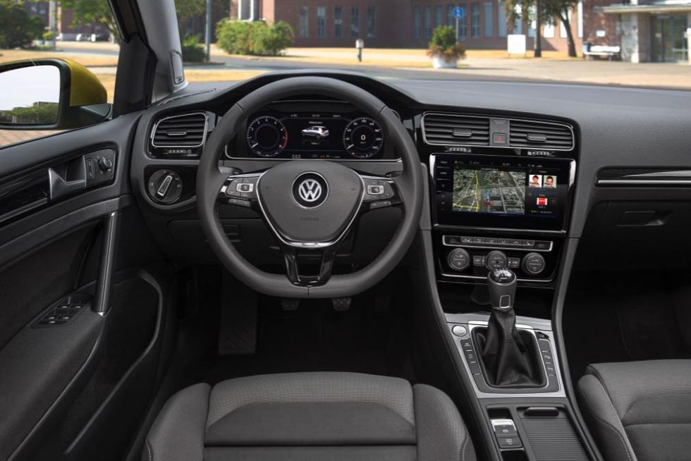 Volkswagen Golf 2017 interior