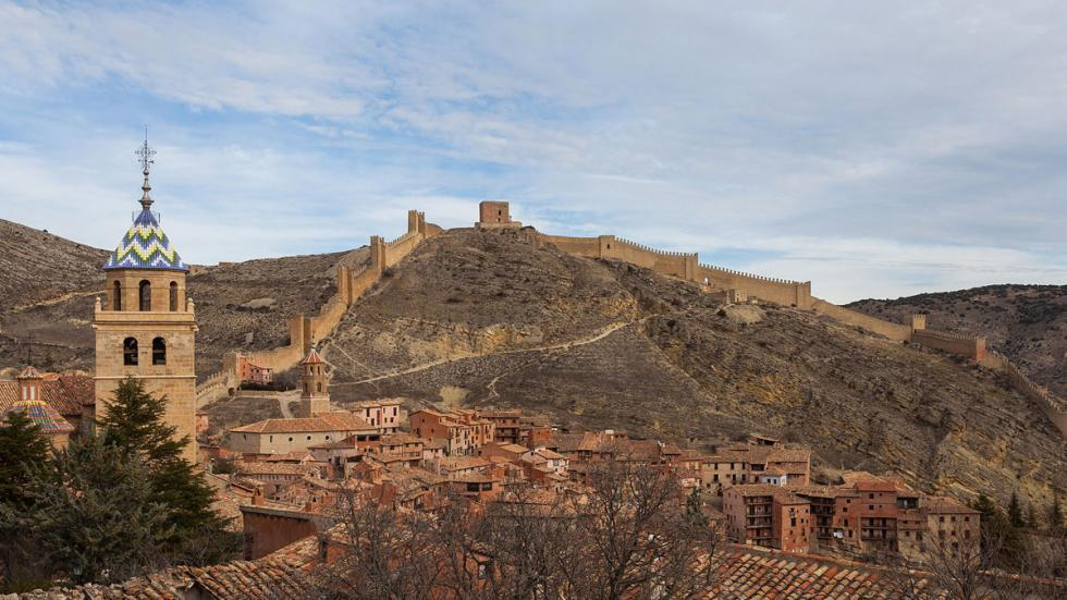 Albarracín, en Teruel.