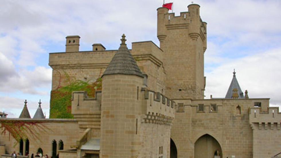 Castillo de Olite, en Navarra.
