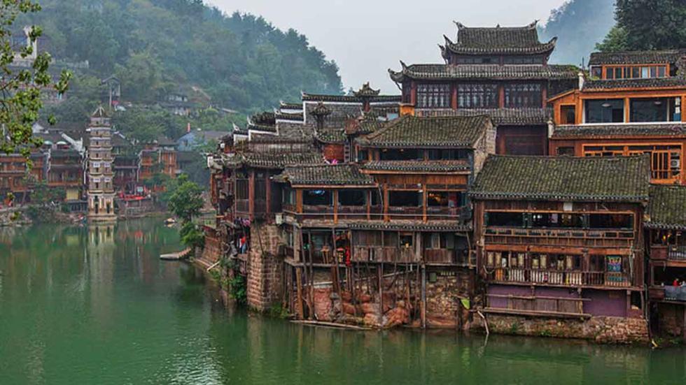 Los  mejores destinos del mundo para viajar en 2017: Fenghuang, China.