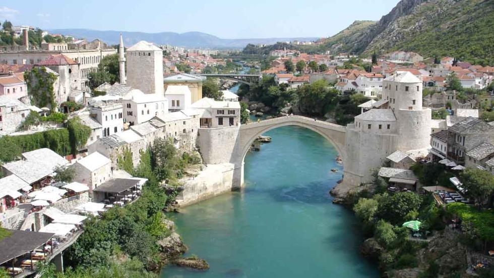 Los  mejores destinos del mundo para viajar en 2017:Mostar (Bosnia-Herzegovina).