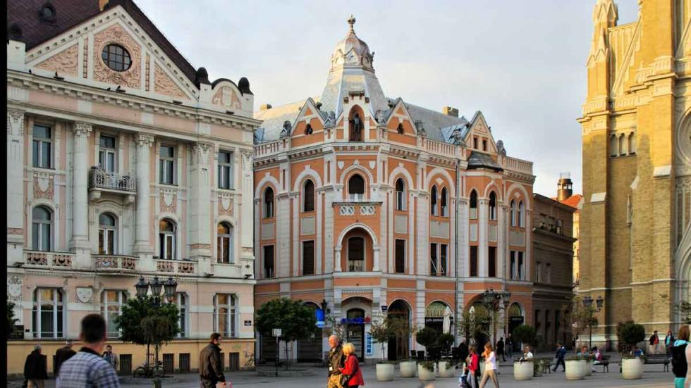 Los  mejores destinos del mundo para viajar en 2017: Novi Sad (Serbia).