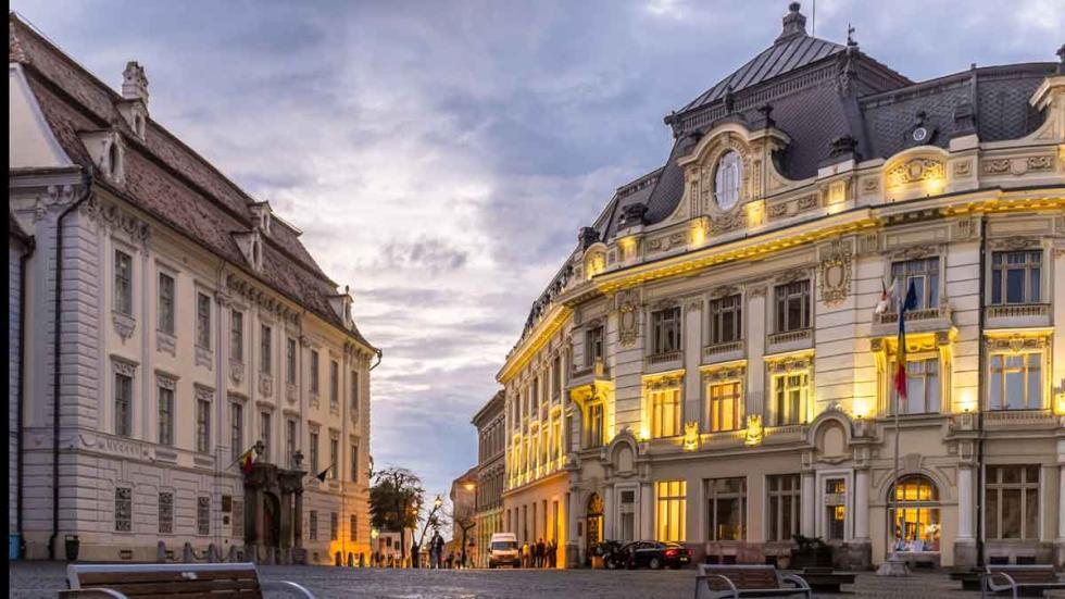 Los  mejores destinos del mundo para viajar en 2017: Sibiu (Rumanía).