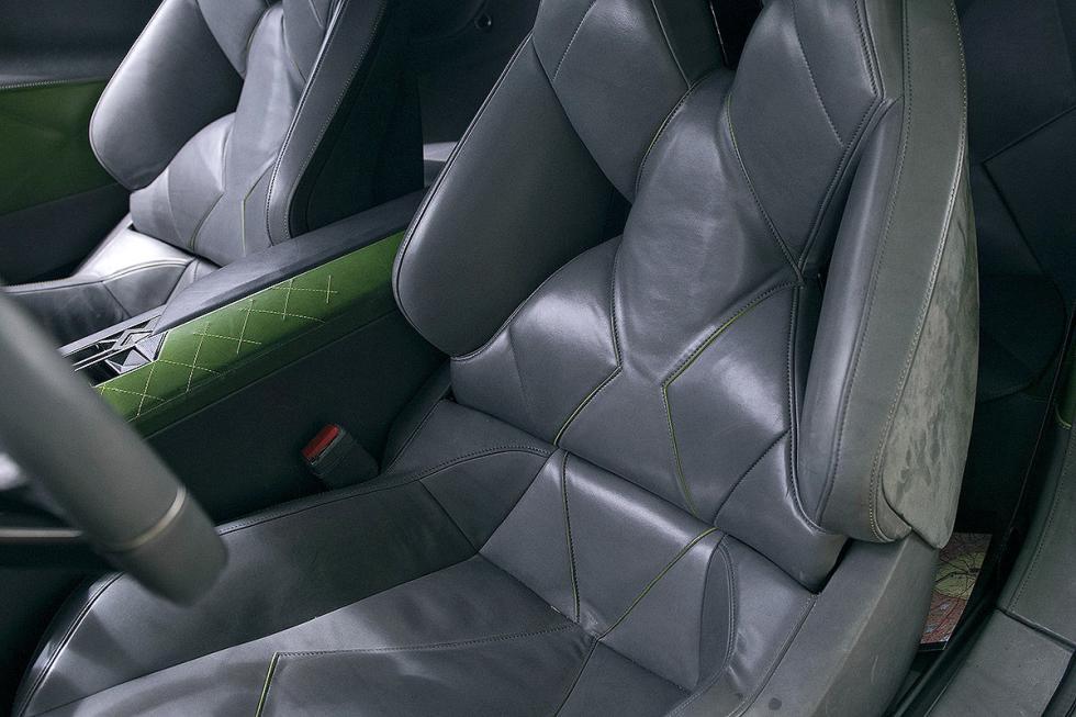 DS E-Tense detalle asientos