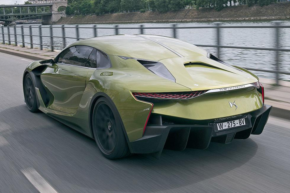 DS E-Tense lateral zaga