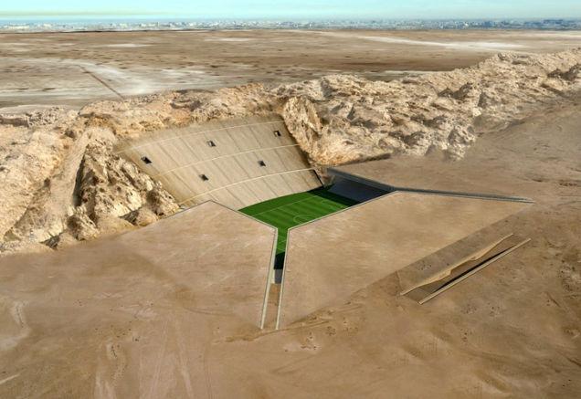 Desert Stadium, proyecto para Qatar 2020.