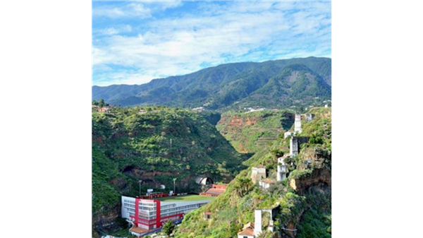 Estadio Silvestre Carrillo, en La Palma
