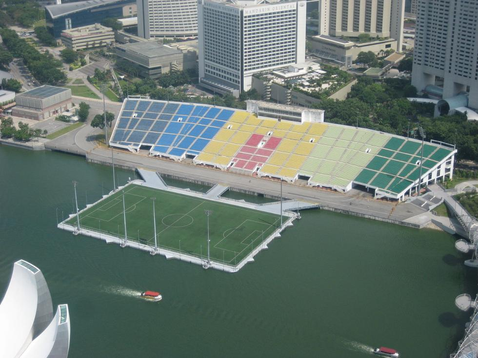Marina Bay Singapore Stadium, en Singapur.