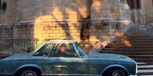 Nico y su Mercedes 280 SL Pagoda.