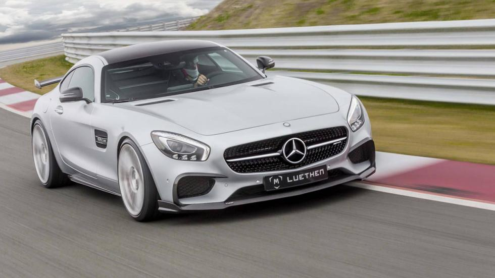 Mercedes-AMG GT Luethen Motorsport frontal