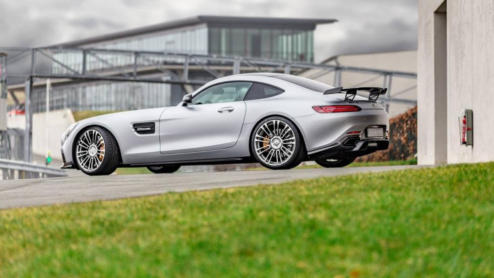 Mercedes-AMG GT Luethen Motorsport lateral