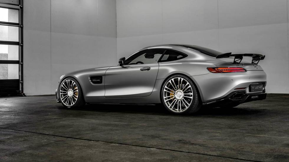 Mercedes-AMG GT Luethen Motorsport perfil