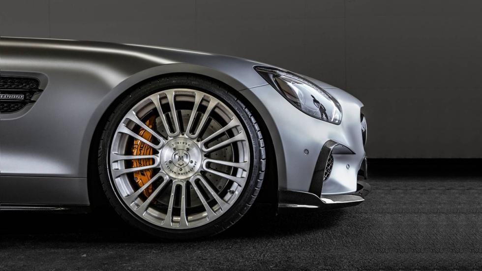 Mercedes-AMG GT Luethen Motorsport llanta delantera