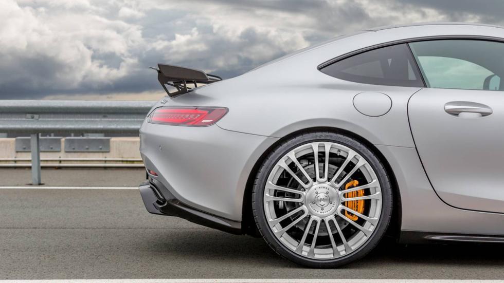 Mercedes-AMG GT Luethen Motorsport llanta trasera