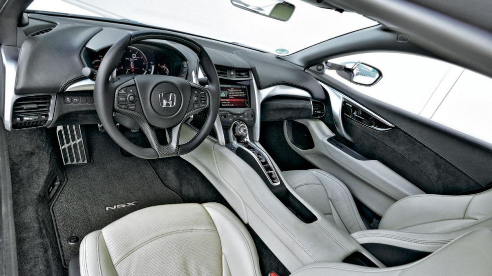 Honda NSX salpicadero