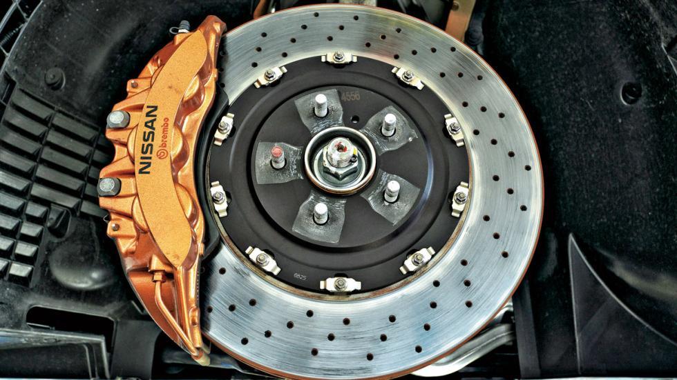 Nissan GT-R pastilla de freno
