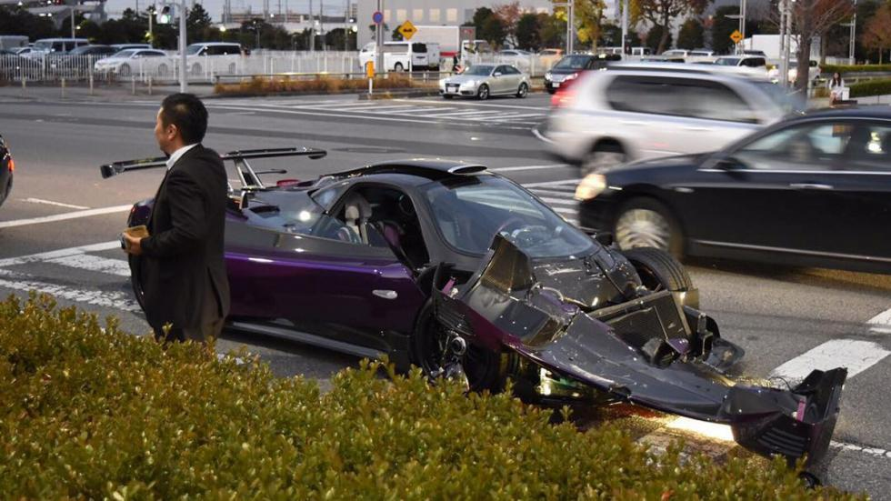 Pagani Zonda ZoZo accidente