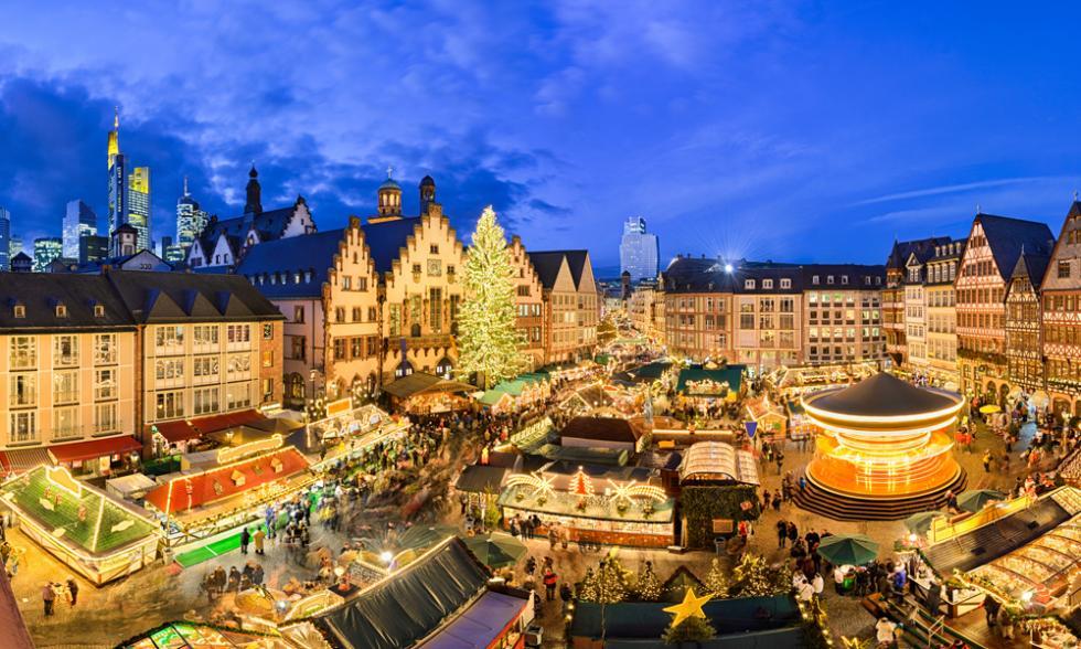 mercado navidad europa frankfurt
