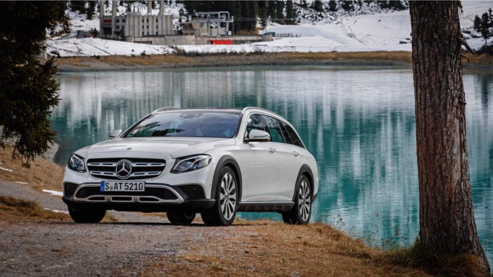 Mercedes Clase E All-Terrain pasos de rueda