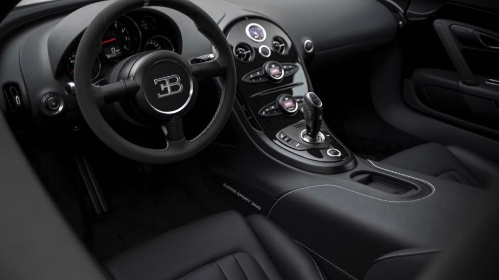 Bugatti Veyron Super Sport 2013 salpicadero
